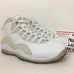 Nike Air Retro Jordan 10 White OVO